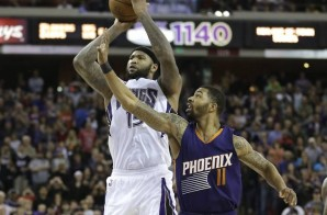 Kings All-Star DeMarcus Cousins Gets The Roll To Defeat The Phoenix Suns (85-83) (Video)