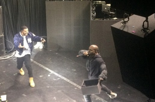 Drake Brings Out Kanye West, Travis Scott, OB O'Brien & ILoveMakonnen In NYC (Video)