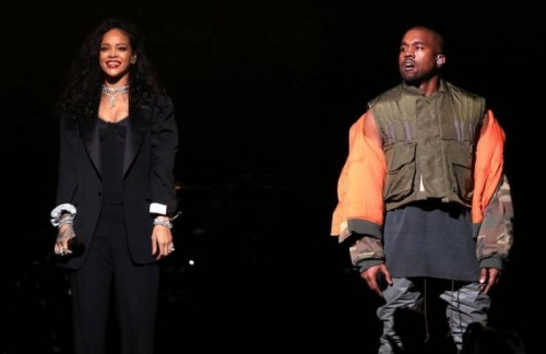 kanyerihrih-500x324 Live Nation Announces Kanye West And Rihanna's First Tour Date!
