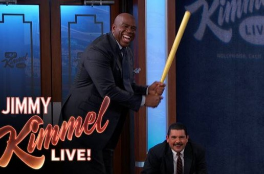 Magic Johnson Talks Winning NBA Titles, The State Of The Los Angeles Lakers & More With Jimmy Kimmel (Video)