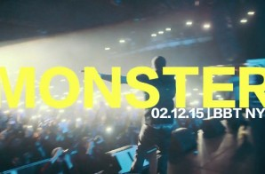 "Meek Mill Performs ""Monster"" Live At The Best Buy Theater In NYC (2.12.15) (Video)"