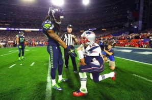 No Flex Zone: Richard Sherman & Tom Brady's Classic Post Game Exchange (Photos)