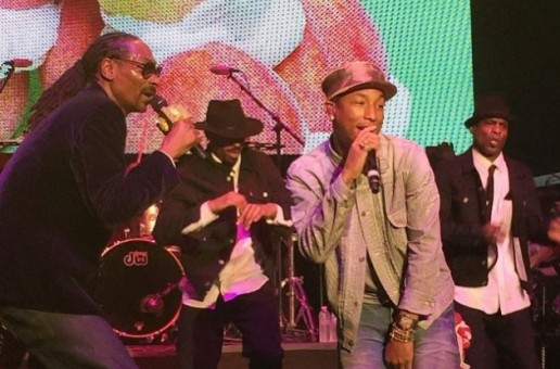 Snoop Dogg & Pharrell Debut New Song At Pre-Grammy Show