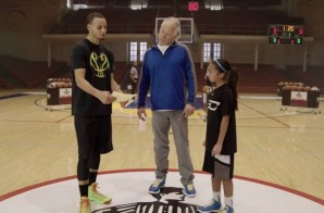 Foot Locker x Under Armour Present: Stephen Curry's 3 Point Shootout vs. Dell Curry & Robert Horry (Video)