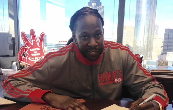 2chainz Tru To ATL: 2 Chainz Takes Over As The Atlanta Hawks CEO (Video)