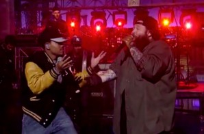 Action Bronson & Chance The Rapper Perform 'Baby Blue' On Letterman (Video)