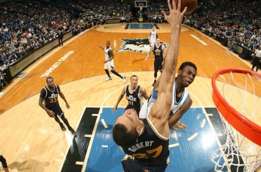 Teen Wolf: Andrew Wiggins Posterizes Utah Jazz Big Man Rudy Gobert TWICE (Video)