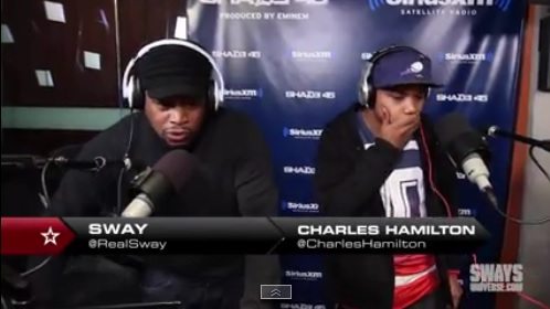 Charles Hamilton – 5 Fingers of Death Freestyle