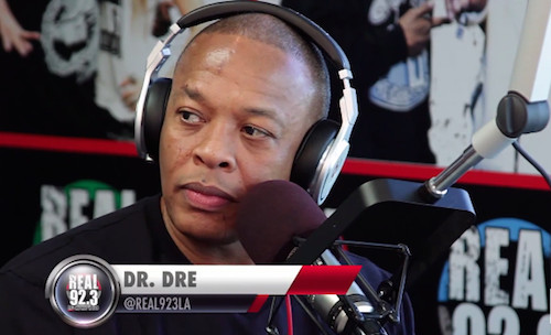 Dr. Dre Talks 'Straight Outta Compton' Biopic (Video)