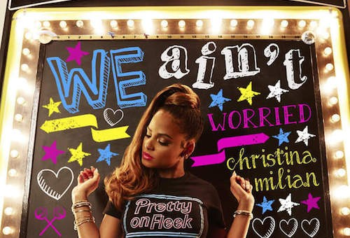Christina Milian – We Aint Worried (Video)