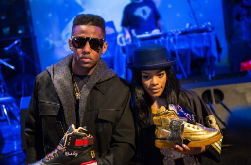 Fabolous And Teyana Taylor Celebrate The Release Of The Ewing Fame & War Project Sneakers At SOB's!