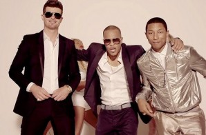 "Pharrell & Robin Thicke Each Earned $5 Million From ""Blurred Lines"""