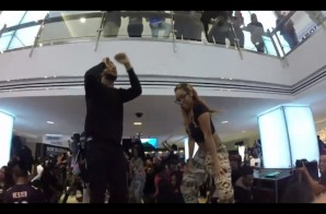 Travis Porter – Twerk For Travy Flash Mob Takes Over Lenox Mall In Atlanta (Video)