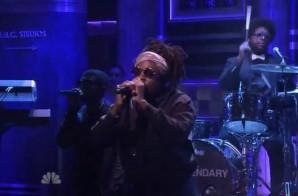 "Wale Performs ""The Girls On Drugs"" On Fallon (Video)"