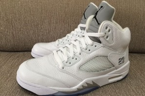 "Air Jordan 5 ""White/Metallic"" (Photo & Release Info)"