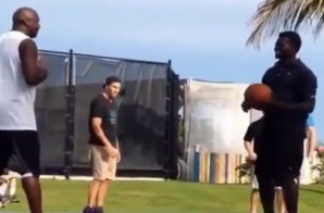 Best Of The Best: Michael Jordan & Tom Brady Play A Game Of Basketball In The Bahamas (Video)