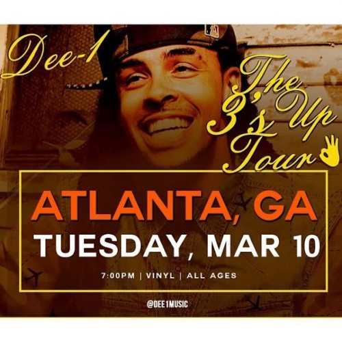 dee-1s-the-3s-up-tour-in-atlanta-ga-live-at-the-vinyl-tuesday-march-10th-HHS1987-2015-500x500 Dee-1's The 3's Up Tour in Atlanta, GA LIVE at The Vinyl Tuesday March 10th