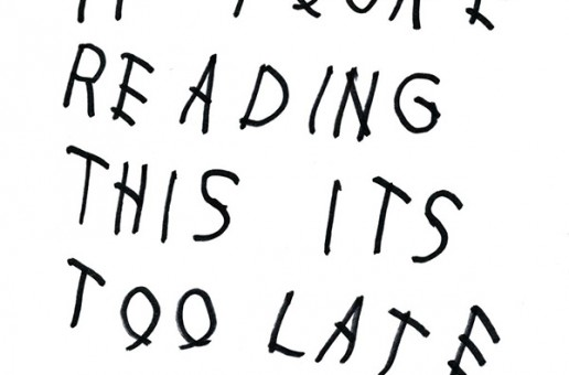 "Drake's ""If You're Reading This, It's Too Late"" Gets Physical Copy Release Date"