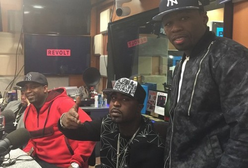 "G-Unit Kicks Freestyle To J. Cole's ""Fire Squad"" & Drake's ""Energy"" on DJ Self's Power 105 Show"