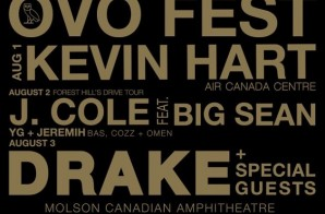 Drake Announces OVO Fest (2015)!