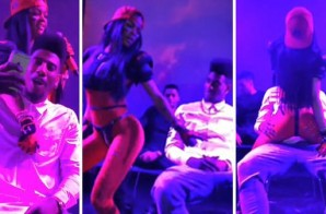 Iman Shumpert Gets A Lap Dance From Girlfriend, Teyana Taylor (Video)