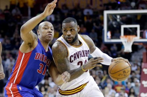 LeBron James Drops His Second Triple-Double Of The Season Against The Detroit Pistons (Video)