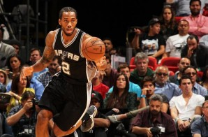 San Antonio Spurs Star Kawhi Leonard Named The 2014-15 NBA Defensive Player of the Year