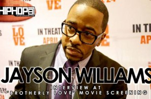 Jayson Williams At 'Brotherly Love' Movie Screening in Philadelphia (3/31/15) (Video)