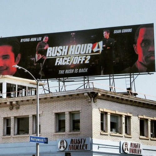 Diddy_Rush_Hour_4-500x500 'Rush Hour 4' Billboard Featuring Diddy Has Appeared In Los Angeles