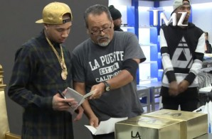 In The Midst Of Tyga's Celebration Of His LA Gear Line, He Gets Summonsed To Appear In Court (Video)