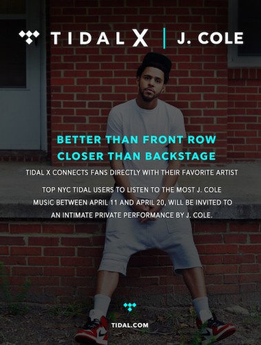 Tidal_X-379x500 Tidal To Launch Tidal X Offline Experience Series With Private J. Cole Concert