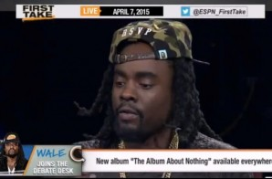 "Wale On ESPN's ""First Take"""
