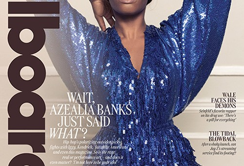 Azealia Banks Covers Billboard Magazine!
