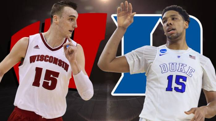 b3a421babb7f63d8f6abbcc1098b5717 Duke's Jahlil Okafor & Wisconsin's Sam Dekker Declare For The 2015 NBA Draft