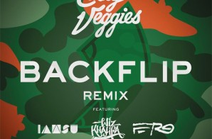 Casey Veggies – Backflip (Remix) Ft. IAMSU!, Wiz Khalifa, & A$AP Ferg
