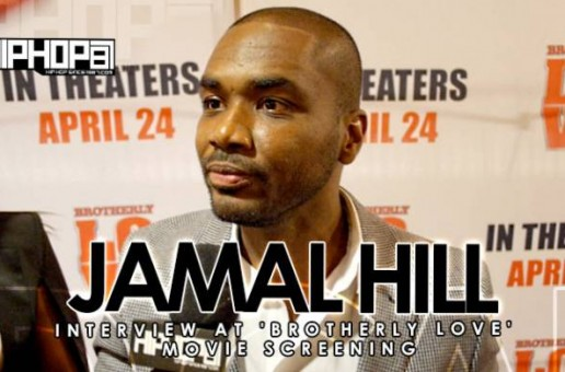 Director Jamal Hill Talks About His Film 'Brotherly Love', A Larenz Tate Film Coming In 2016 & More (Video)