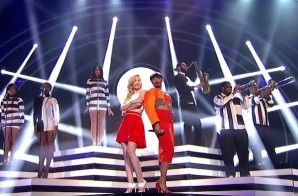 "Iggy Azalea And Jennifer Hudson Perform ""Trouble"" on ""American Idol"""