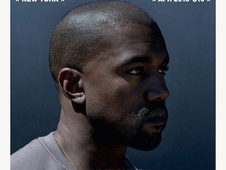 Kanye West On The Cover Of PAPER Magazine