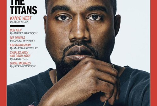 """Kanye West Covers The Latest Issue Of Time Magazine, """"The 100 Most Influential People"""""""