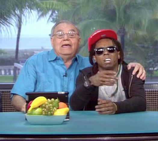 "lil-wayne-appearance-espn-highly-questionable Lil Wayne & Papi Rap ""HYFR"" On ESPN'S 'Highly Questionable' (Video)"
