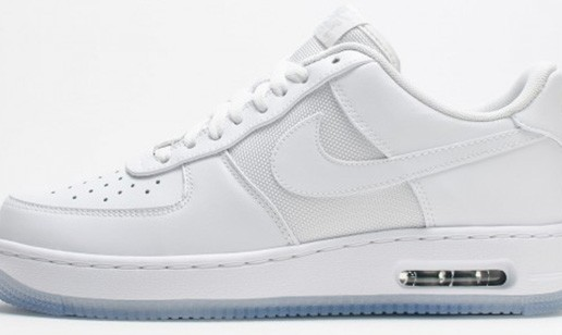 "Nike Air Force 1 Elite ""White Ice"" (Photos)"