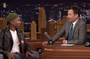 Pharrell Talks Working With Fellow VA Native Missy Elliott On Fallon! (Video)