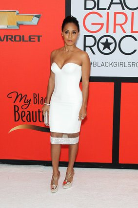 "slide_413832_5243154_compressed Jada Pinkett Smith, Tracee Ellis Ross, Janelle Monae & More Grace The ""Black Girls Rock"" Red Carpet (Photos)"