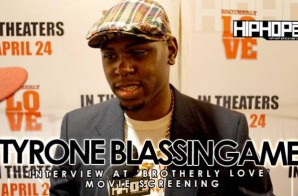 Tyrone Blassingame At 'Brotherly Love' Movie Screening in Philadelphia (3/31/15) (Video)