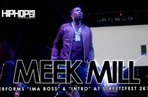 "Meek Mill Performs ""Ima Boss"" & ""Dreams & Nightmares"" at StreetzFest 2k15 (Video)"