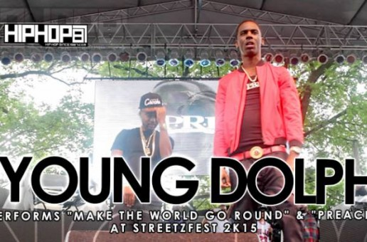 """Young Dolph Performs """"Make The World Go Round"""" & """"Preach"""" at StreetzFest 2K15 (Video)"""