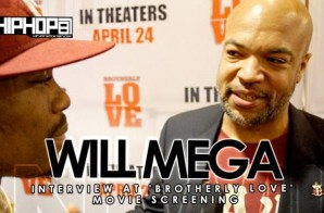 Will Mega At 'Brotherly Love' Movie Screening in Philadelphia (3/31/15) (Video)