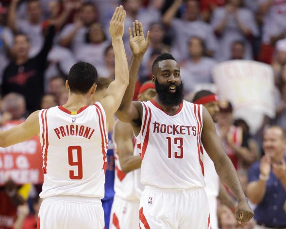 628x471 James Harden Drops 20 Points In A Game 1 Home Loss To The Los Angeles Clippers (Video)