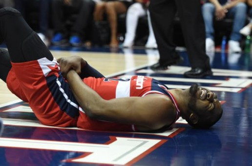 Washington Wizards Star John Wall Will Miss Game 2 Tonight Against The Atlanta Hawks Due To A Swollen Wrist