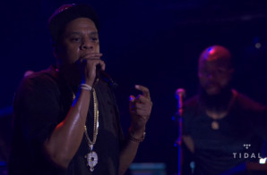 Jay Z Spits A Tidal Freestyle At 'B-Sides' Concert (Video)